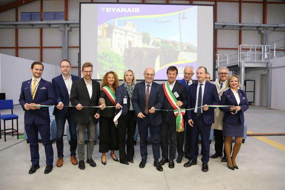 Ryanair Hangar Bergamo