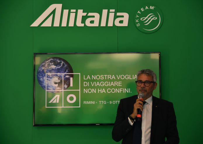 Lazzerini Alitalia TTG 2019