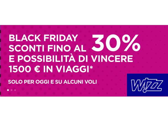 Wizz Air Black Friday