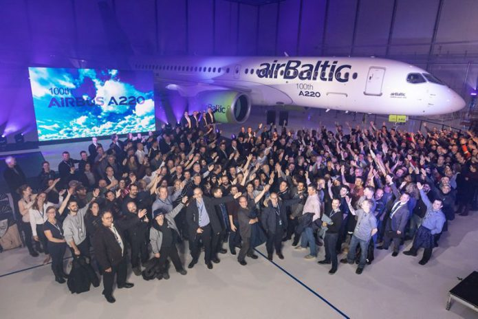 A220 AirBaltic group