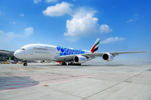 A380 Emirates Mobility Livery