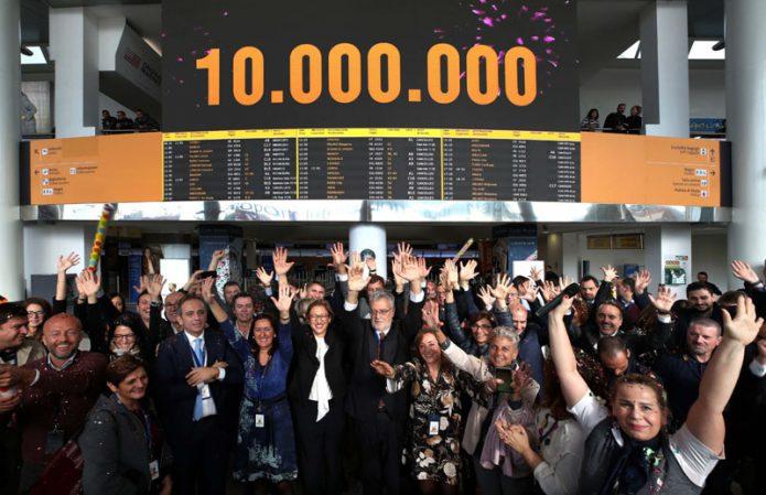Aeroporto di Napoli 10 milioni