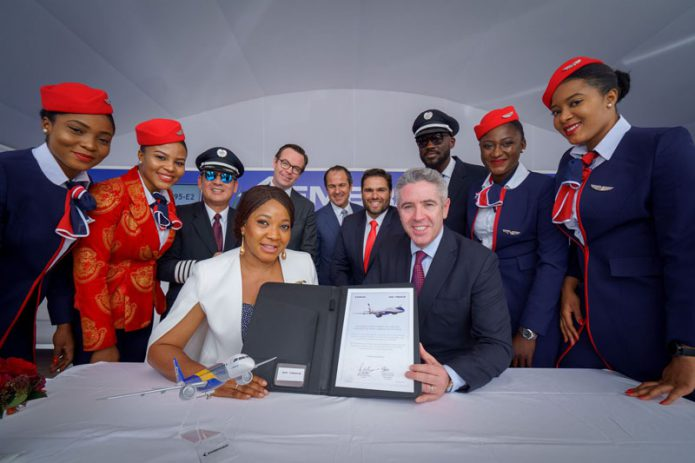 Air Peace signing ceremony at DAS 2019