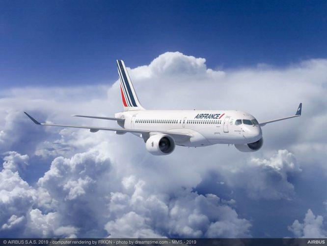 Air France-KLM conferma l'ordine per 60 Airbus A220