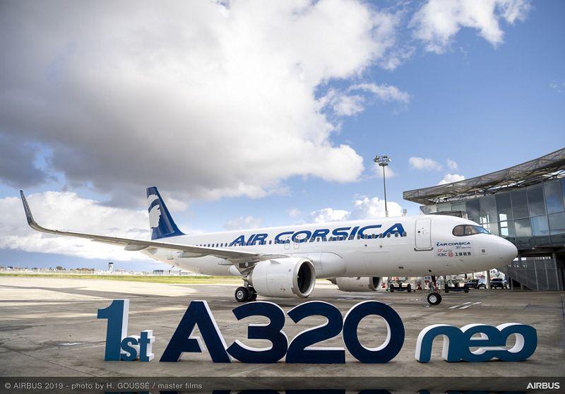 A320neo Air Corsica MSN9348
