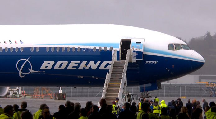 777X Maiden Flight - aircraft