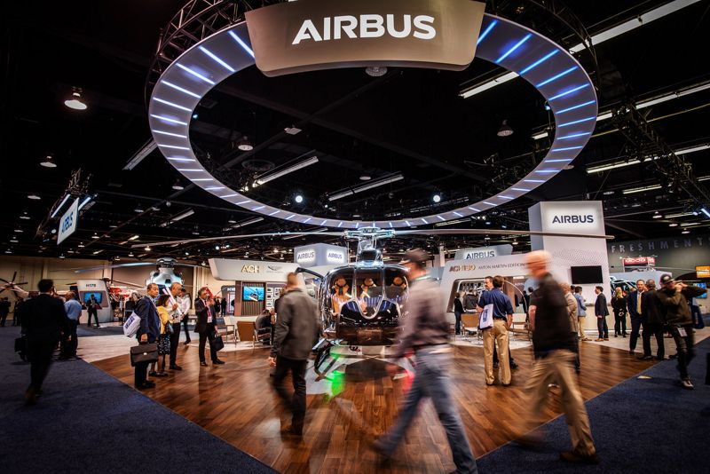 Airbus Heli Expo 2020 booth cD Bond