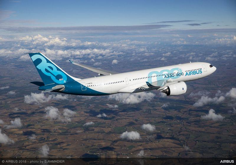 A330 800 MSN1888 first flight air to air 035
