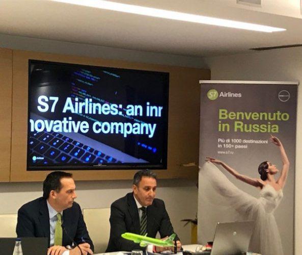 Conferenza stampa S7 Airlines VRN