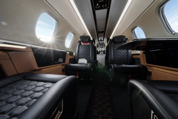 Embraer Phenom 300E Interiors