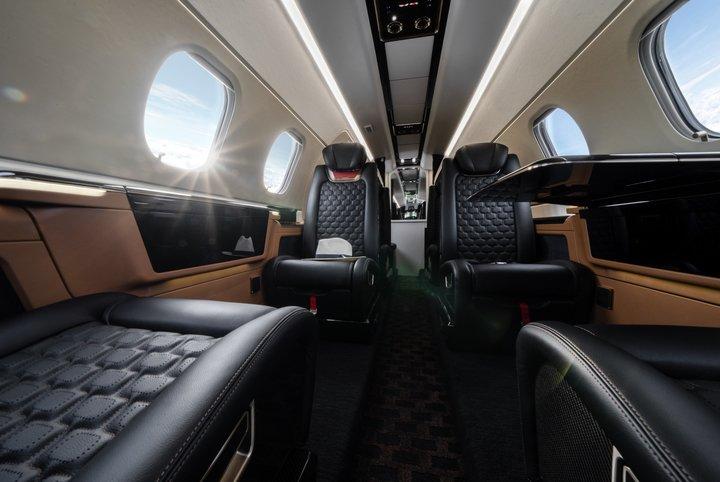 Embraer Phenom 300E Interiors