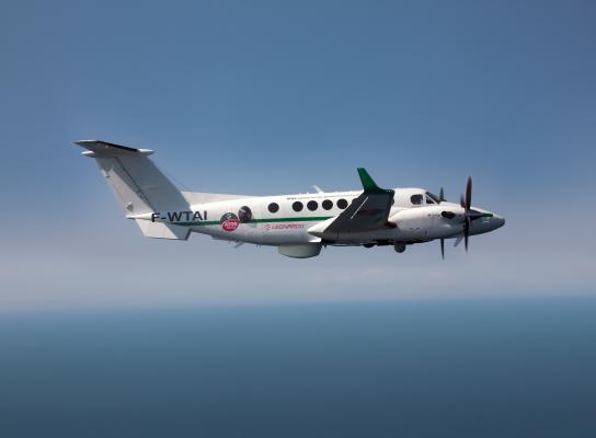 Surveillance ready Beechcraft King Air