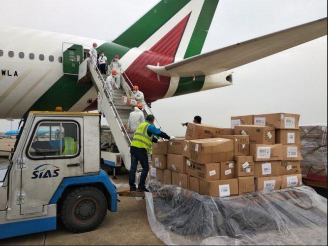 Alitalia cargo Cina
