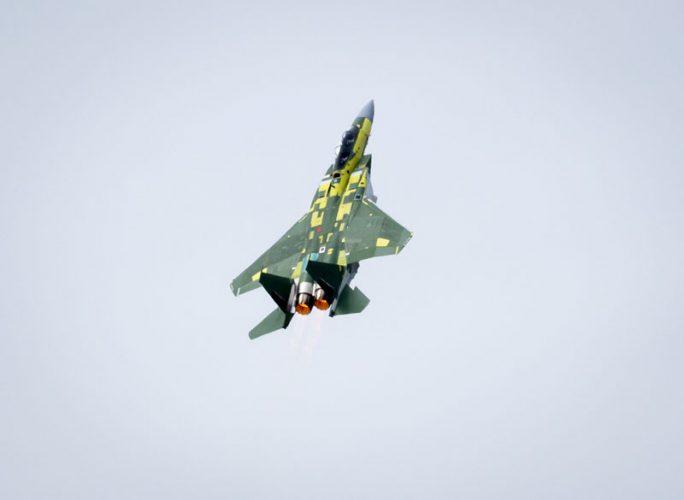 2020 04 F 15QA First Flight Takeoff