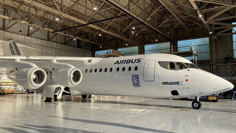 Airbus RR E Fan X