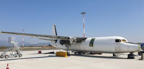 SEAS Fokker 27 Bergamo