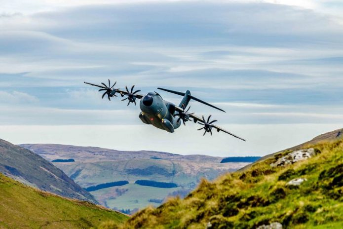 A400M Low Level Flights ScottNorbury