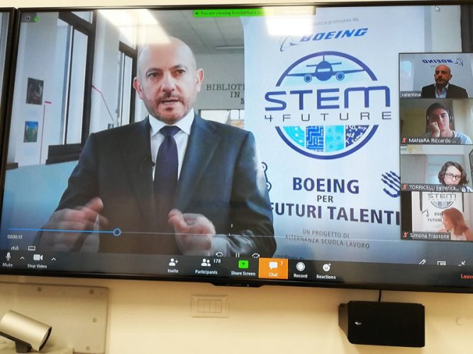 Boeing STEM 4