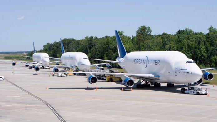 Dreamlifter Boeing