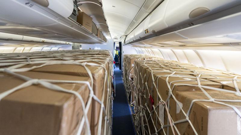 PR Pax to Cargo A 380