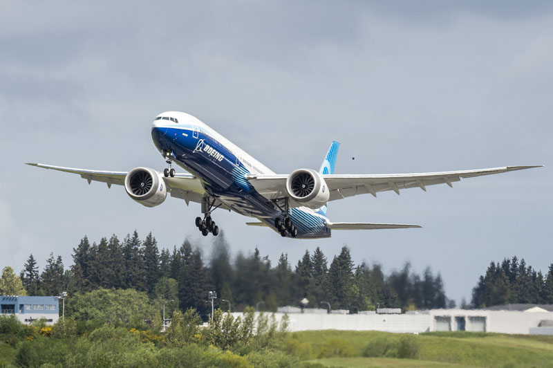 Second 777X Take Off