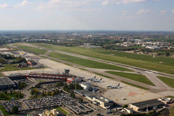 Aeroporto Bologna vista