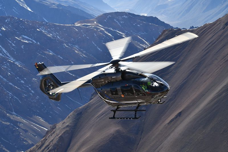 Airbus Helicopters five bladed H145