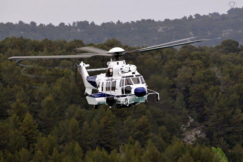 H225 in flight