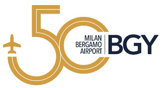 50 anni SACBO BGY Logo