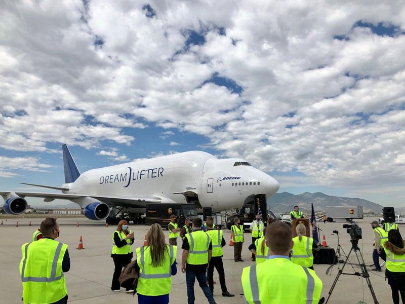 Boeing Dreamlifter Utah
