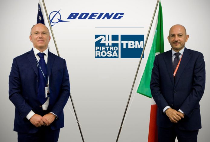 De Palmas Boeing Fioretti Pietro Rosa TBM