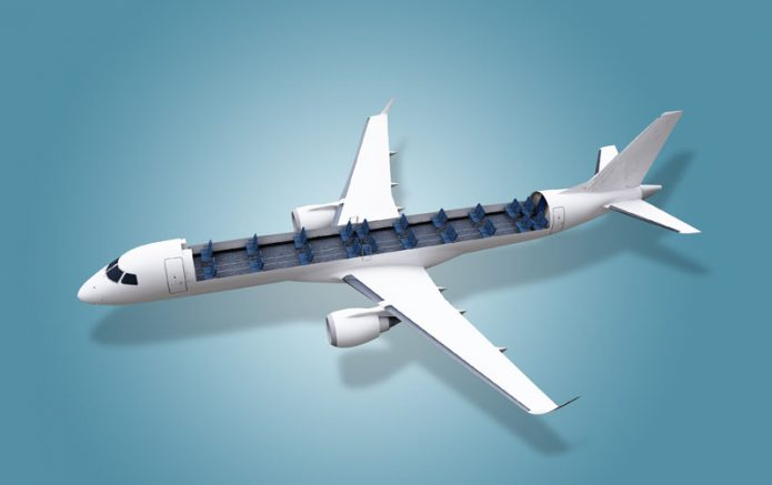 Embraer Cargo Commercial Aircraft