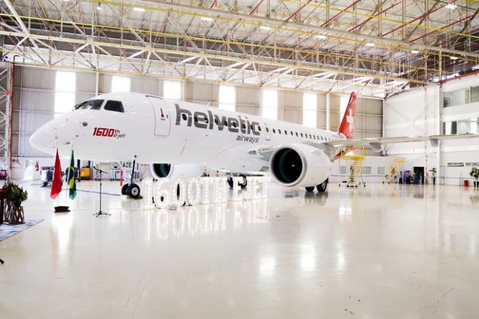 Embraer E190 E2 1600 Helvetic