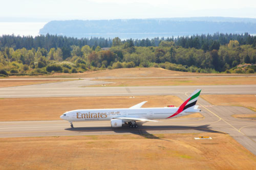 Emirates Boeing 777 ARN