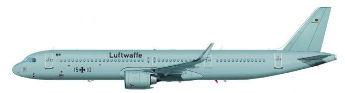 GAF A321 Lufthansa Technik