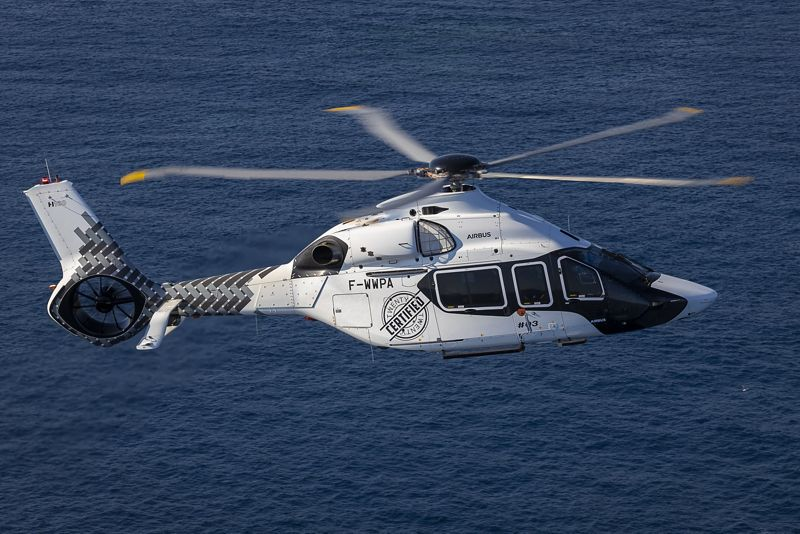 H160 certified by EASA