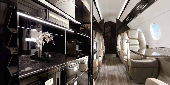 Praetor 500 Cabin