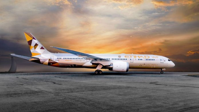 etihad 787 ground