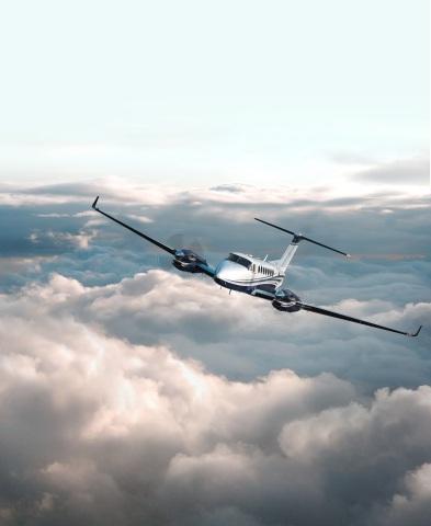 King Air aerial