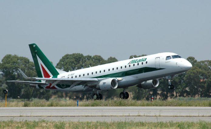 Alitalia Embraer 175