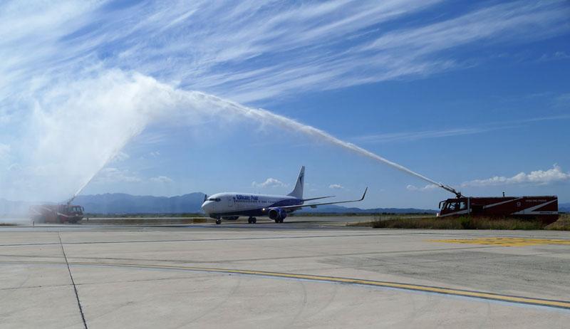 Cagliari Blue Air Water Arc