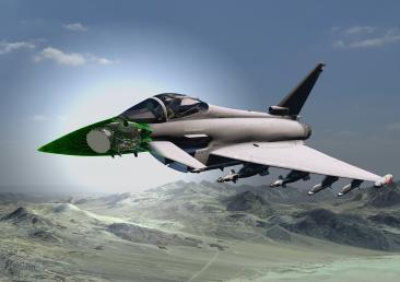 Leonardo ECRS Mk2 radar CGI