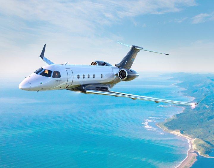 Praetor 500 flight
