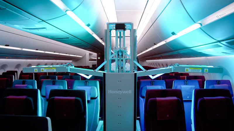 Qatar Airways Honeywell UV