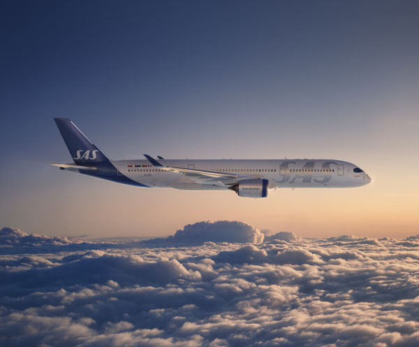 SAS A350 Flying