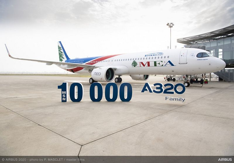 A321neo Middle East Airlines Delivery Ceremony
