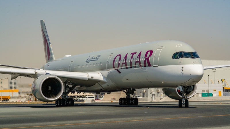 A350 1000 Qatar Airways