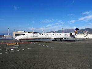 Aereo Lufthansa a Genova