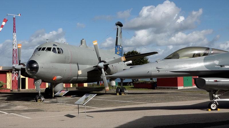 Atlantic ed F16 al Museo di Vigna di Valle