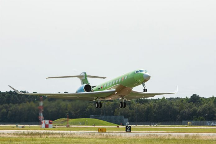 Gulfstream Launches Fourth G700 Test Aircraft